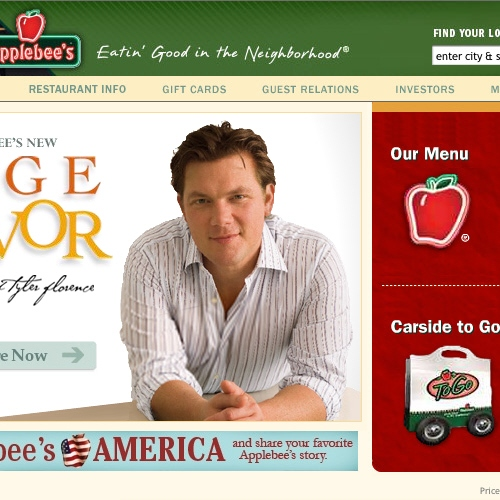 Tyler applebees homepage sq